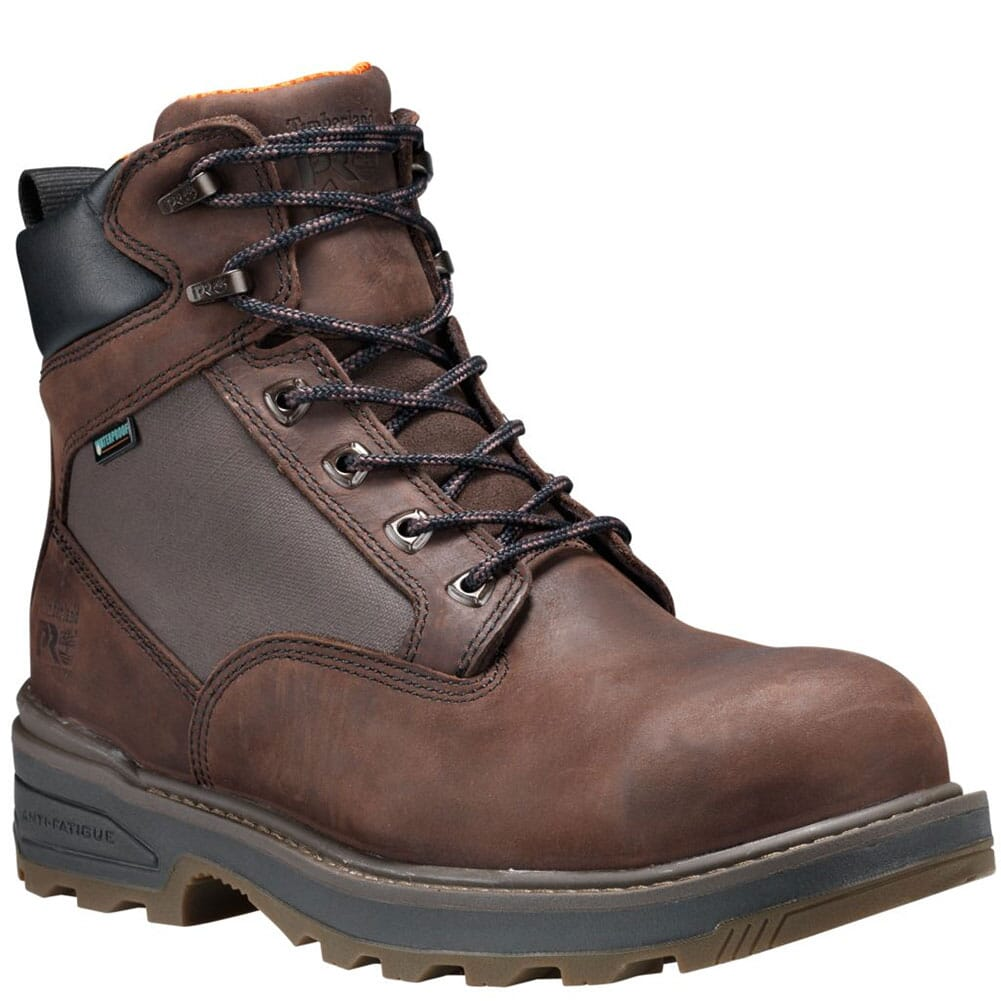 Image for Timberland PRO Men's Resistor Safety Boots - Brown from bootbay