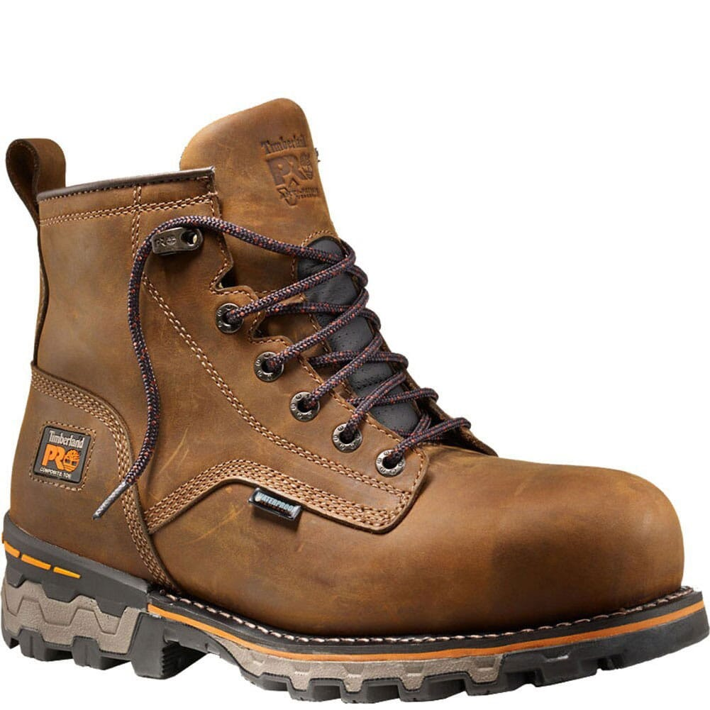 Image for Timberland Men's WP Boondock Safety Boots - Brown from bootbay