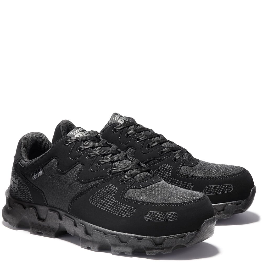 Image for Timberland Pro Men's Powertrain SD+ Safety Shoes - Black from bootbay