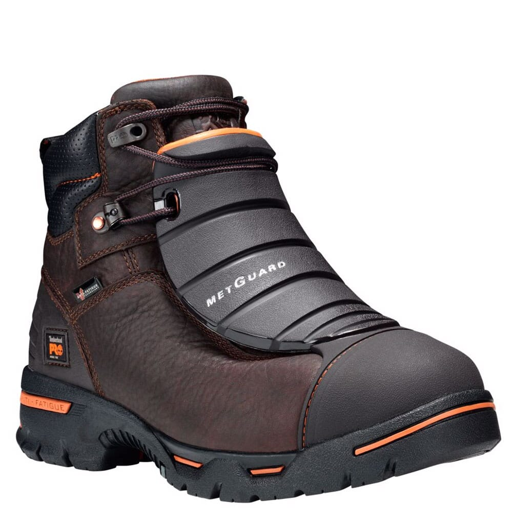 Image for Timberland PRO Men's Endurance Met Guard Safety Boots - Brown from bootbay