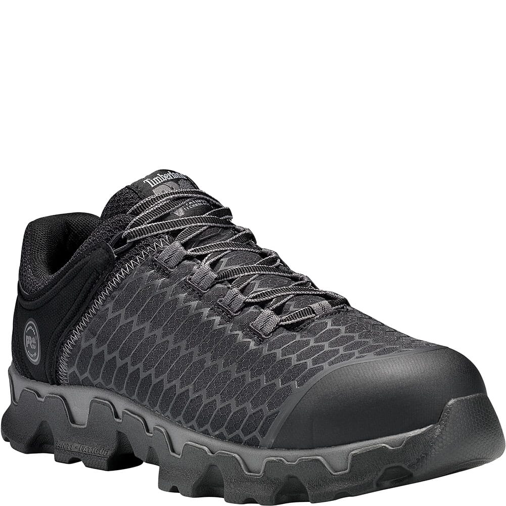 Image for Timberland Pro Men's Powertrain Safety Shoes - Black from bootbay