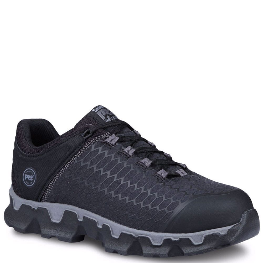 Image for Timberland Pro Men's Powertrain Sport SD Safety Shoes - Black from bootbay