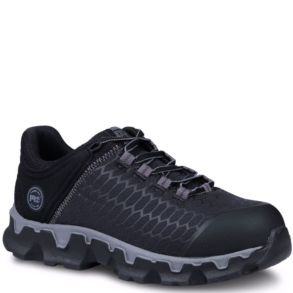 Image for Timberland Pro Women's Powertrain Safety Shoes - Black from elliottsboots