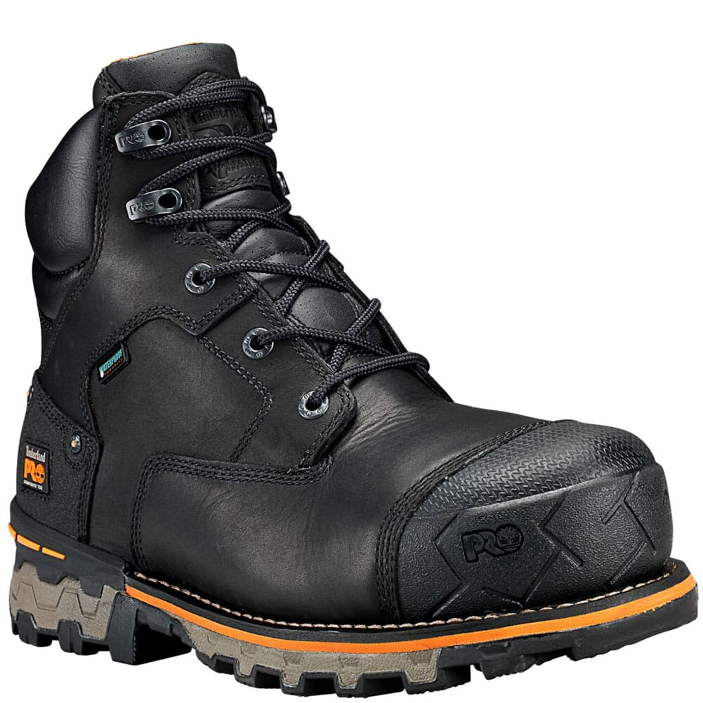 Image for Timberland PRO Men's Boondock Safety Boots - Black from bootbay
