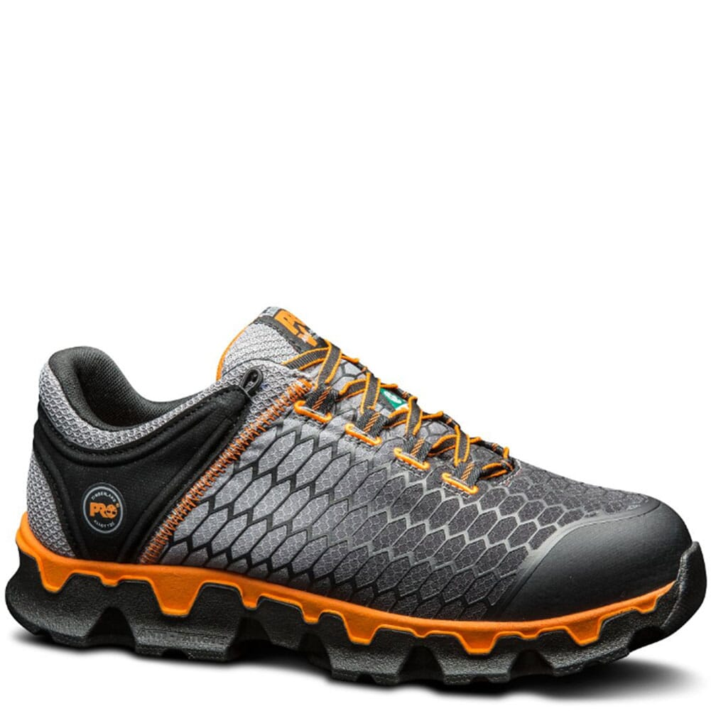 Image for Timberland PRO Men's Powertrain Sport Safety Boots - Grey from bootbay