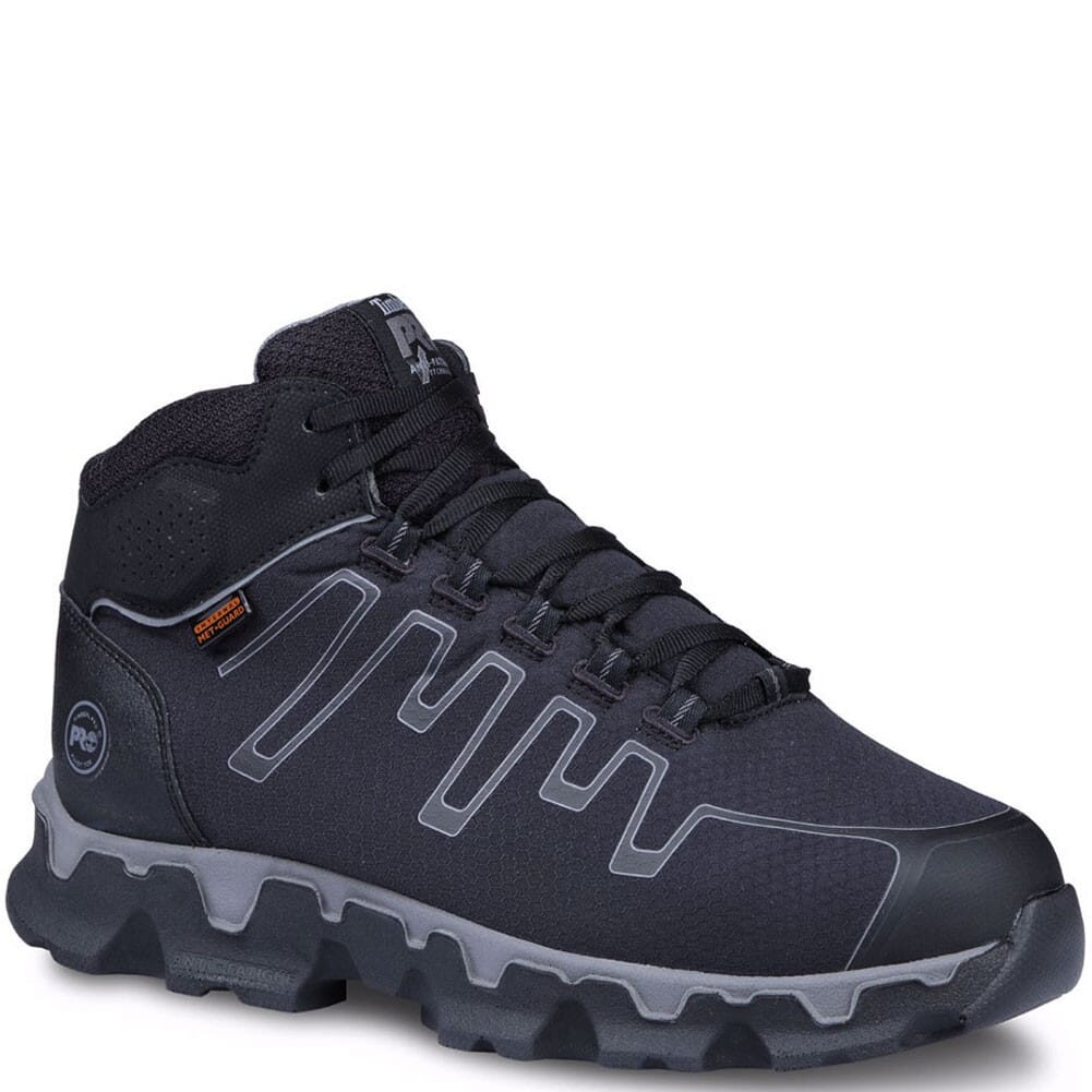 Image for Timberland Pro Men's Powertrain Met Guard Safety Boots - Black from bootbay