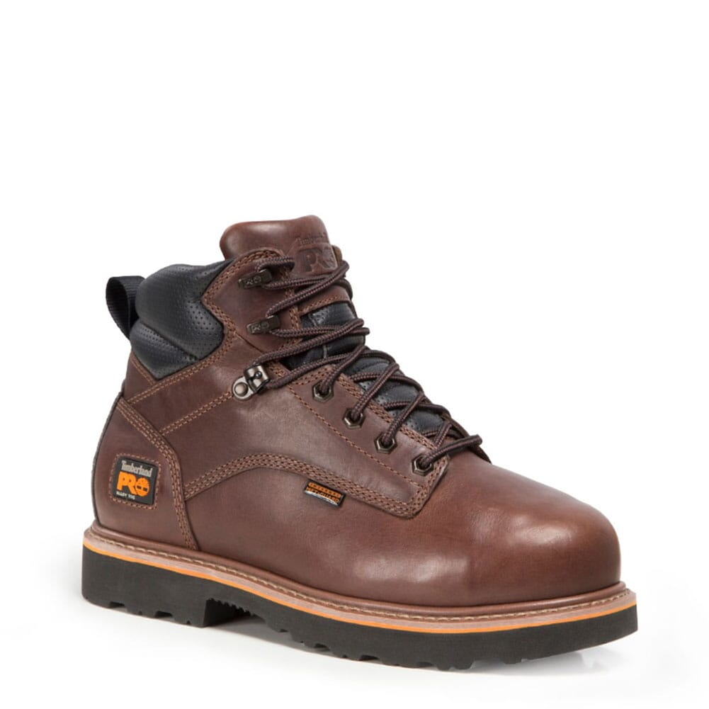 Image for Timberland PRO Men's Ascender Safety Boots - Dark Brown from bootbay