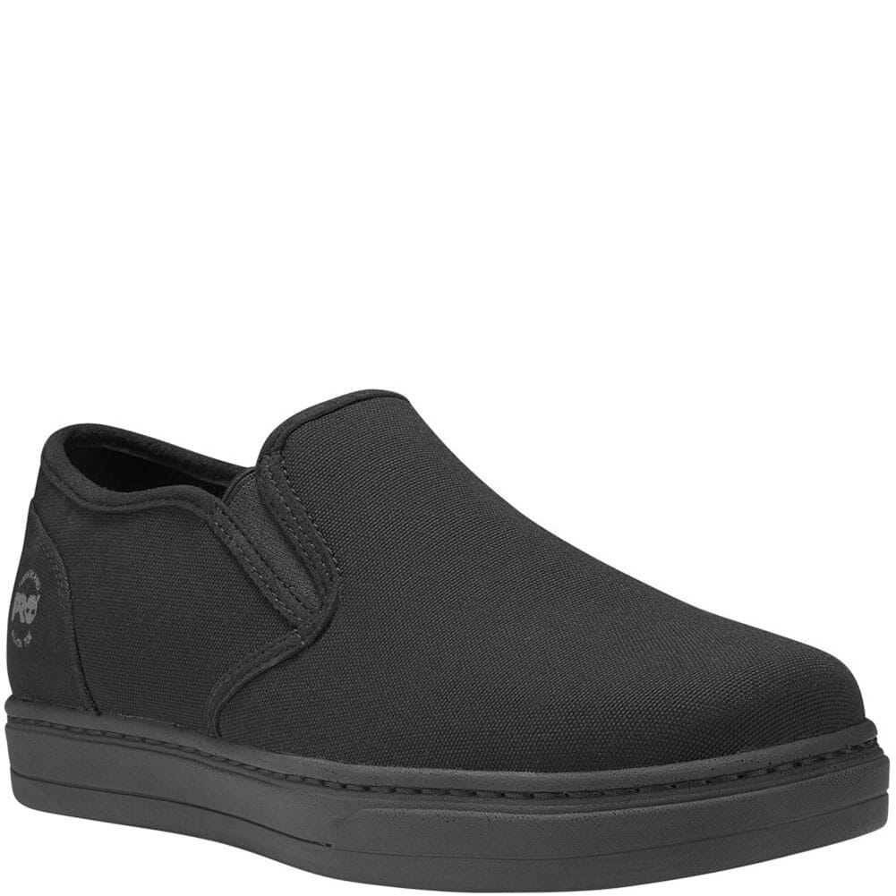 Image for Timberland PRO Men's Disruptor Slip-On Safety Shoes - Black from bootbay