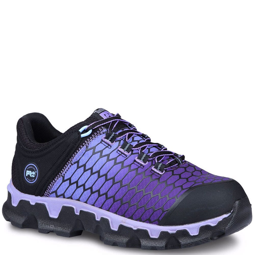 Image for Timberland Pro Women's Powertrain Sport Safety Shoes - Black/Purple from elliottsboots