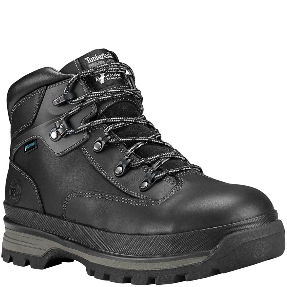 Image for Timberland PRO Men's Euro Hiker Safety Boots - Black from bootbay