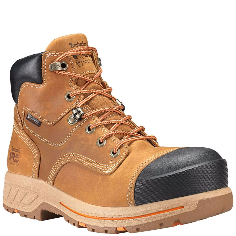 Image for Timberland Pro Men's Helix HD WP Safety Boots - Wheat from bootbay