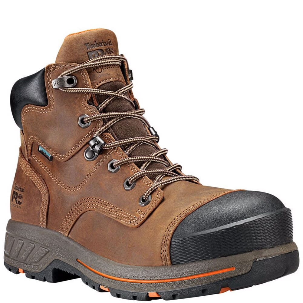 Image for Timberland Pro Men's Helix HD Safety Boots - Brown from bootbay