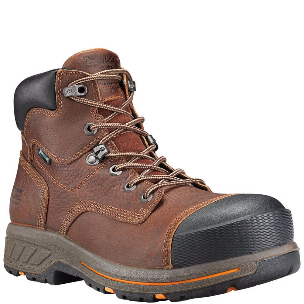Image for Timberland Pro Men's Helix HD Safety Boots - Mahogany from bootbay