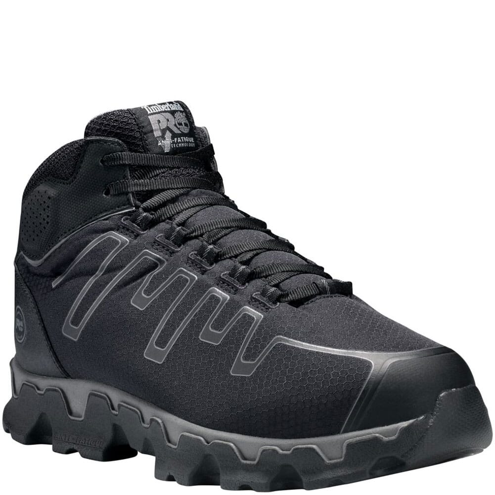 Image for Timberland PRO Men's Powertrain Mid Safety Shoes - Black from bootbay
