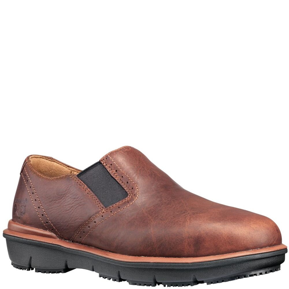 Image for Timberland PRO Men's Boldon SD+ Safety Slip Ons - Brown from bootbay