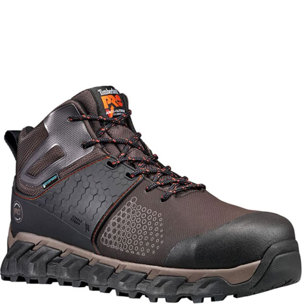 Image for Timberland Pro Men's Ridgework Safety Boots - Brown from bootbay