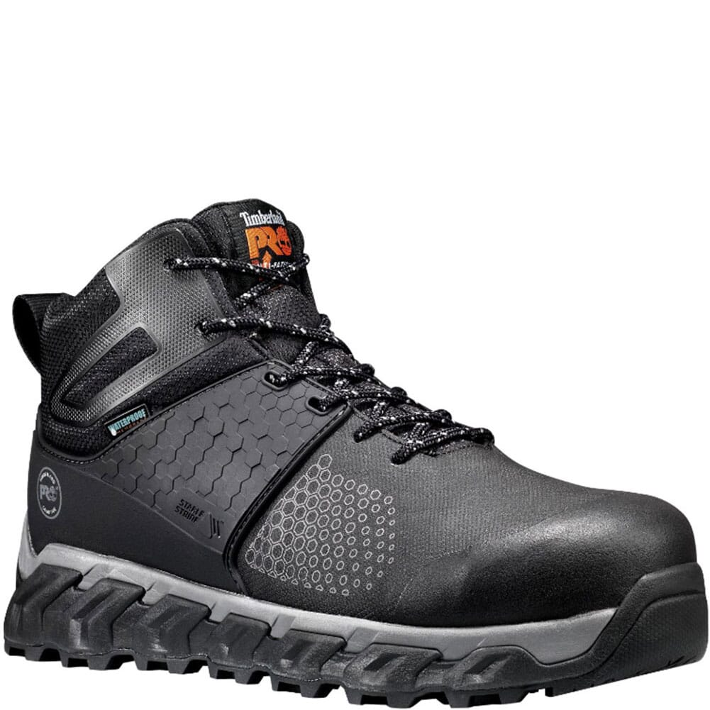 Image for Timberland Pro Men's Ridgework Safety Boots - Black from bootbay