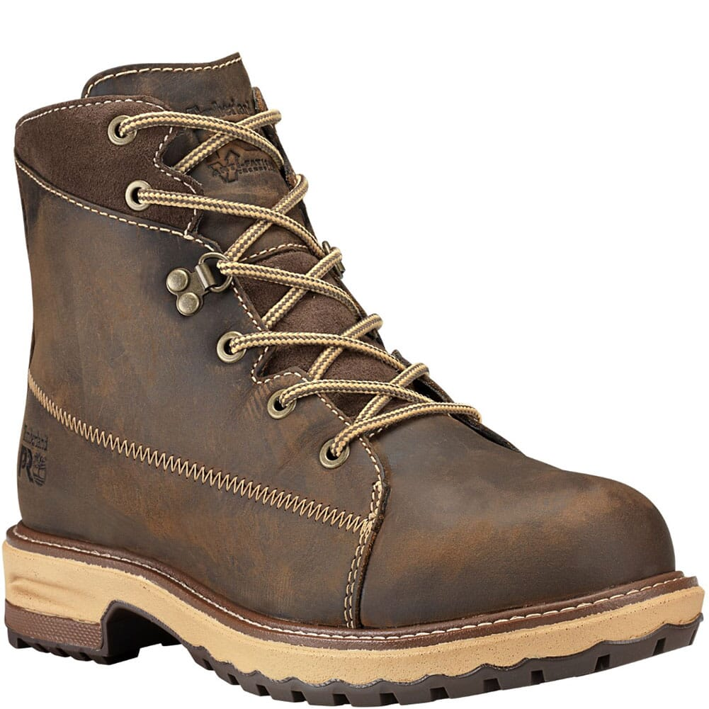Image for Timberland PRO Women's Hightower Safety Boots - Dark Brown from bootbay