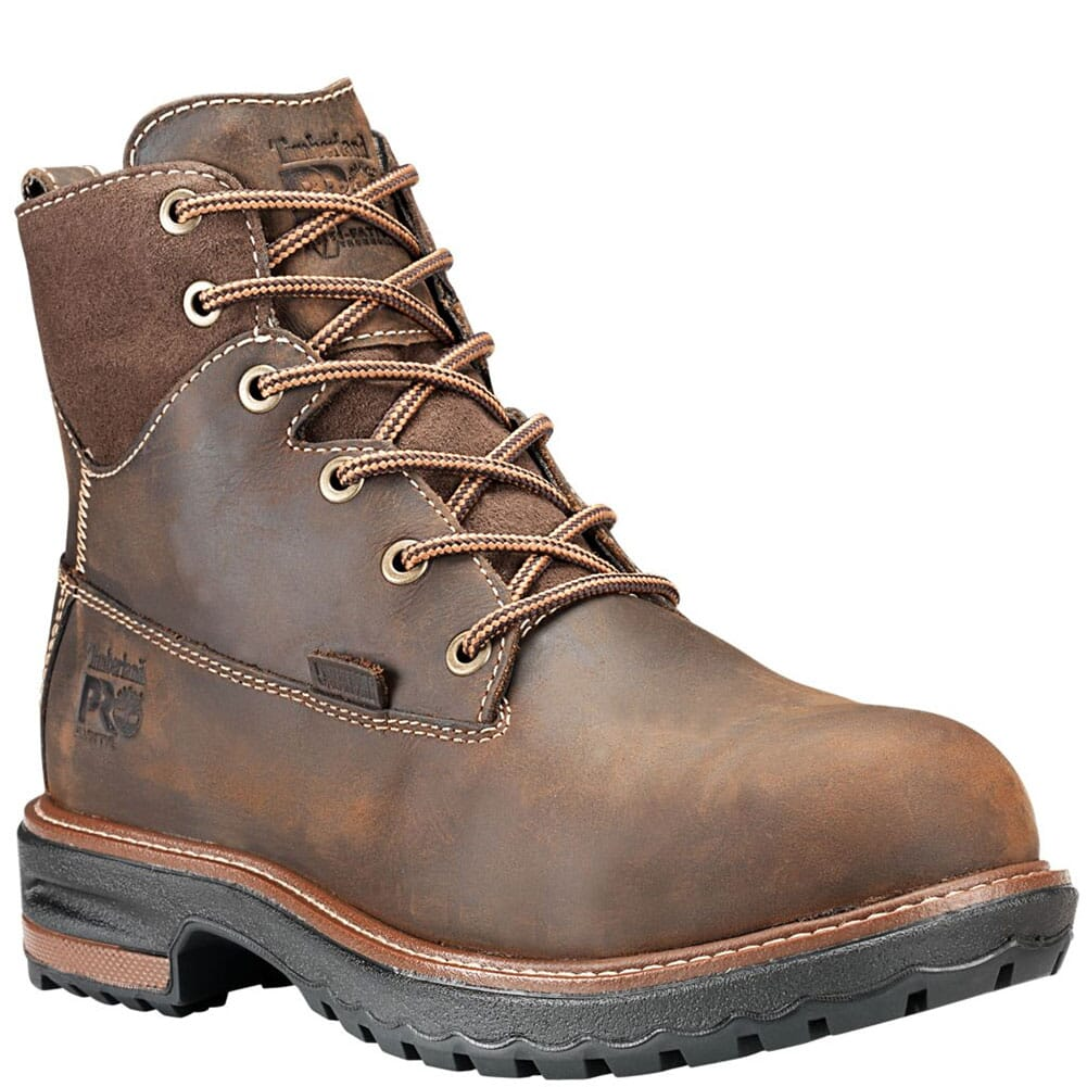 Image for Timberland PRO Women's Hightower WP Safety Boots - Dark Brown from bootbay