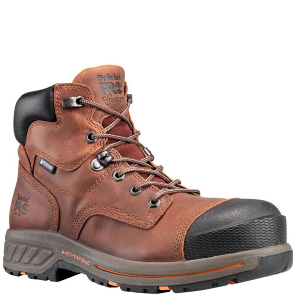 Image for Timberland Pro Men's Helix HD Work Boots - Brown from bootbay