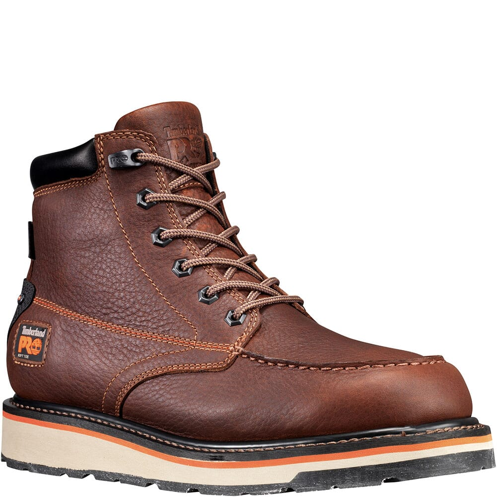 Image for Timberland Pro Men's Gridworks Work Boots - Brown from bootbay