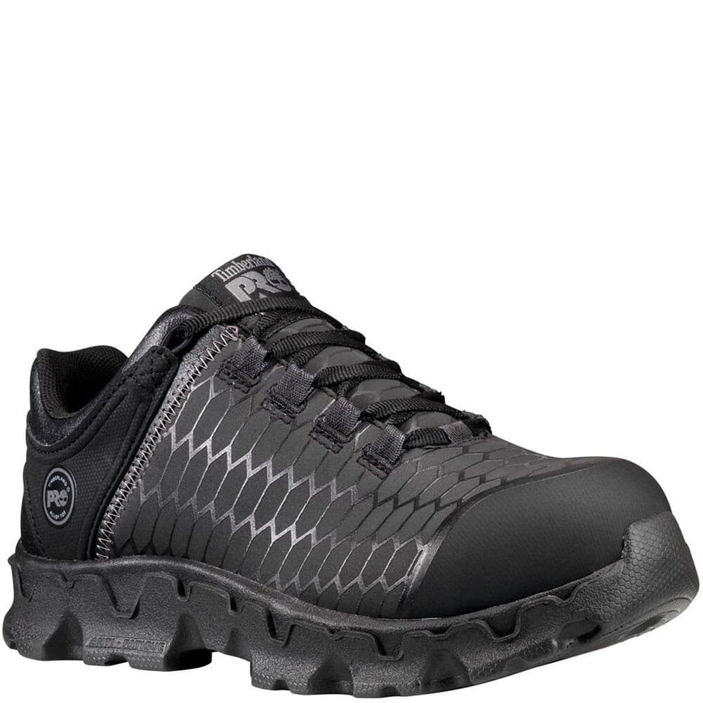 Image for Timberland PRO Women's Powertrain Safety Shoes - Solid Black from elliottsboots