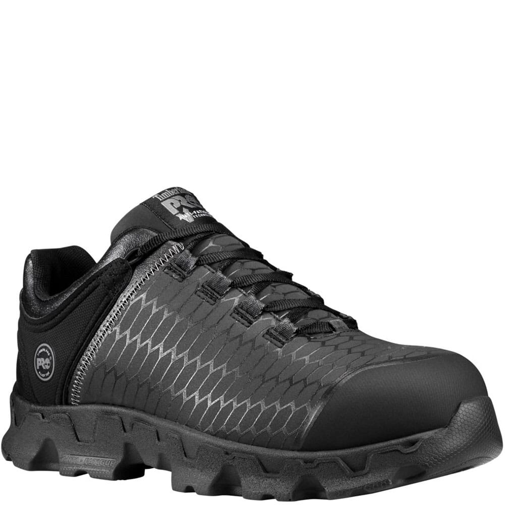 Image for Timberland PRO Men's Powertrain Sport SDP Safety Shoes - Black from bootbay