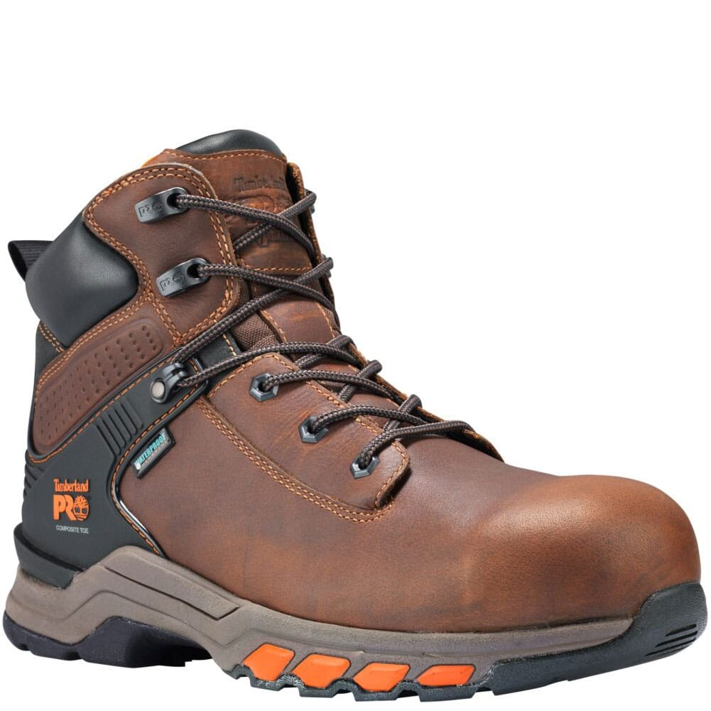 Image for Timberland PRO Men's Hypercharge 6in Safety Boots - Brown from bootbay