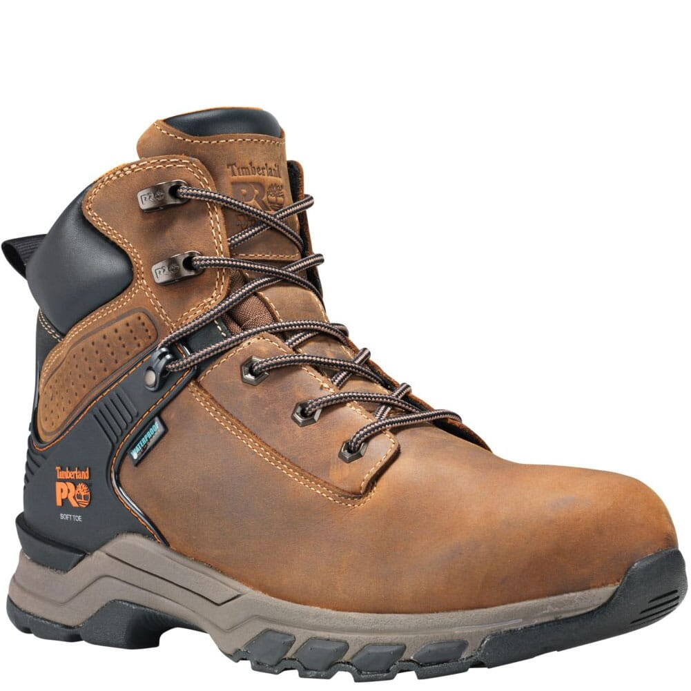 Image for Timberland PRO Men's Hypercharge Work Boots - Brown from bootbay