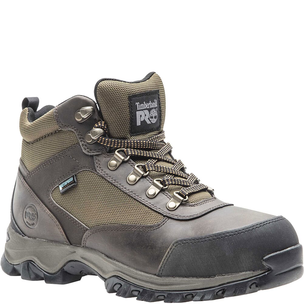 Image for Timberland PRO Men's Keele Ridge Safety Boots - Brown from bootbay