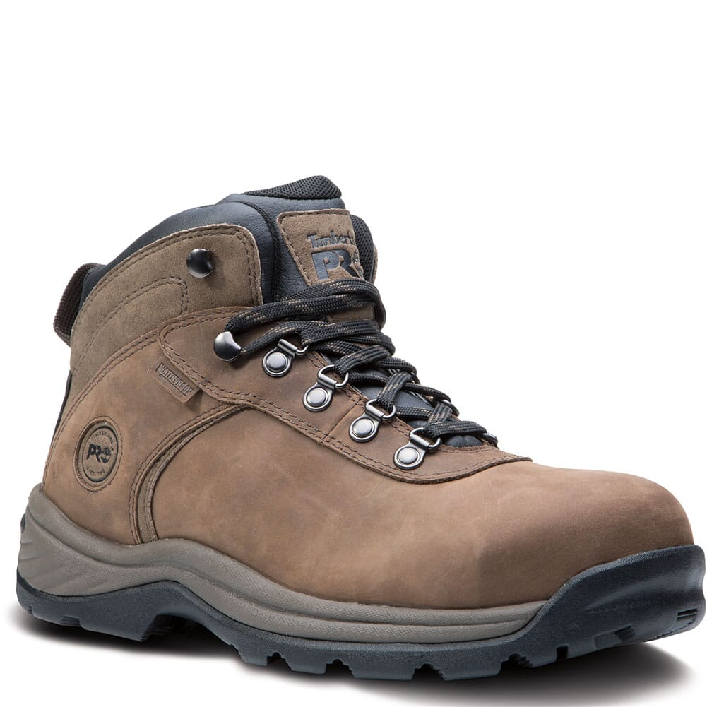 Image for Timberland PRO Men's Flume Safety Boots - Brown from bootbay