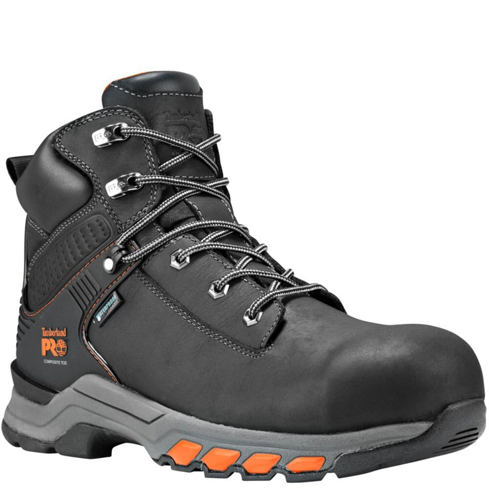 Image for Timberland PRO Men's Hypercharge Safety Boots - Black from bootbay