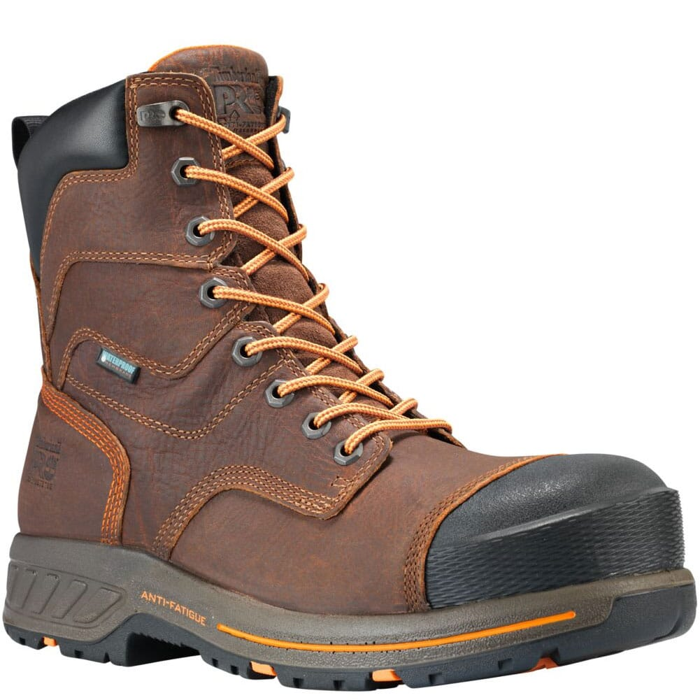Image for Timberland PRO Men's Helix HD 8in Safety Boots - Brown from bootbay