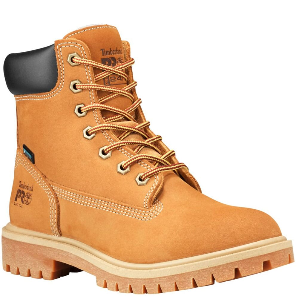 Image for Timberland PRO Women's Direct Attach Work Boots - Wheat from elliottsboots