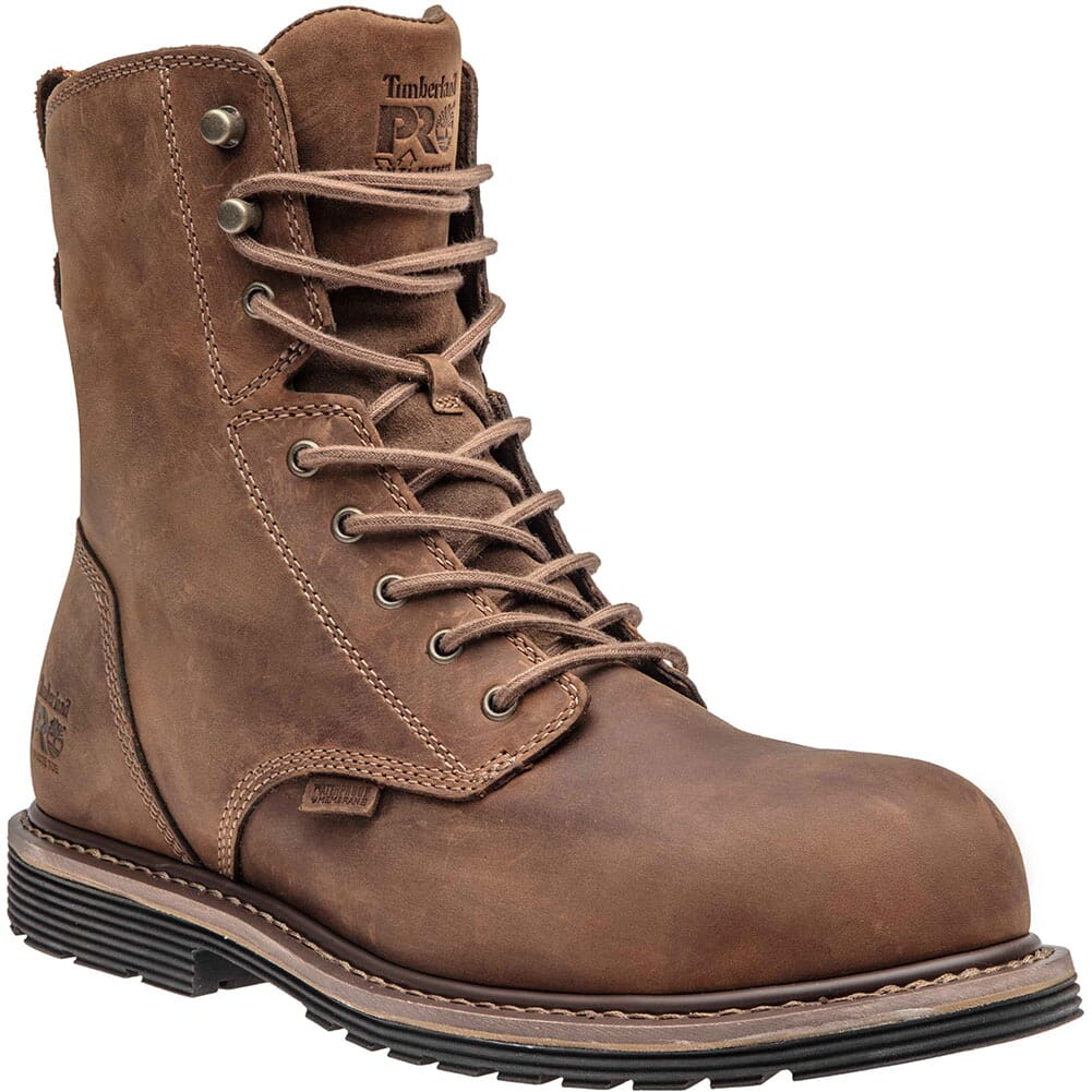 Image for Timberland Pro Men's Millworks 8in Safety Boots - Gaucho from bootbay