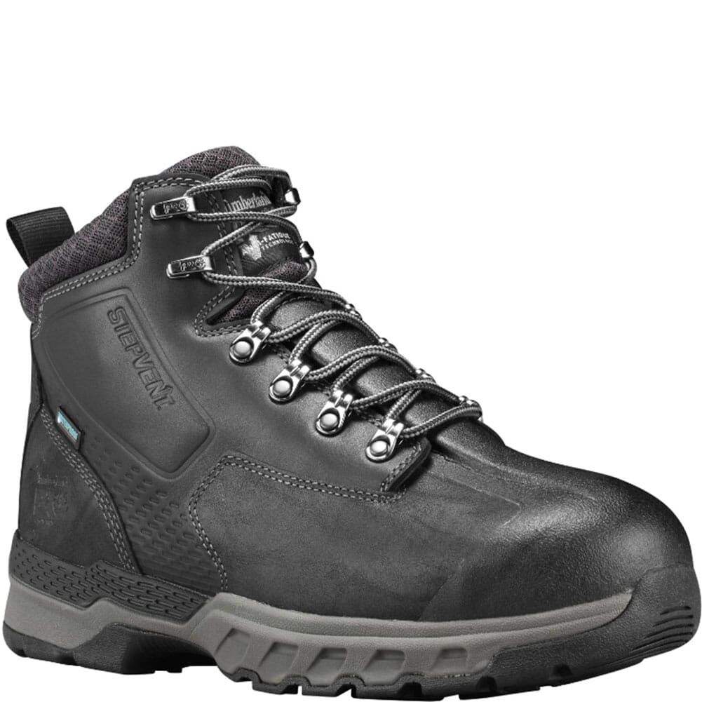 Image for Timberland Pro Men's Downdraft Safety Boots - Black from bootbay
