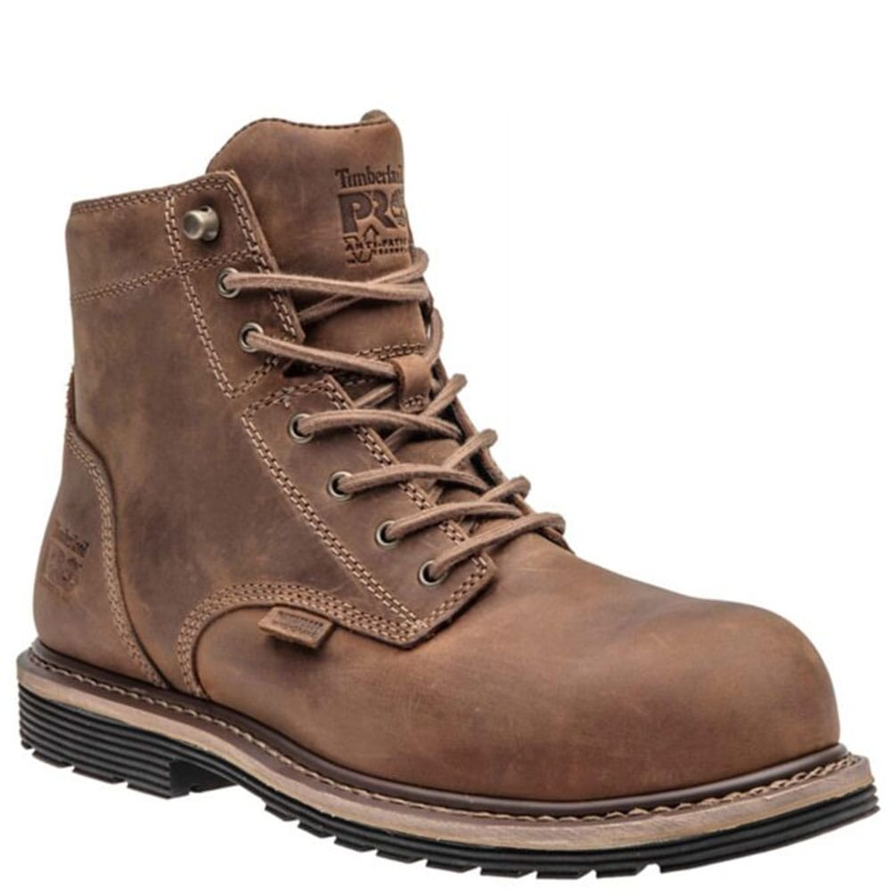 Image for Timberland Pro Men's Millworks Safety Boots - Brown from bootbay