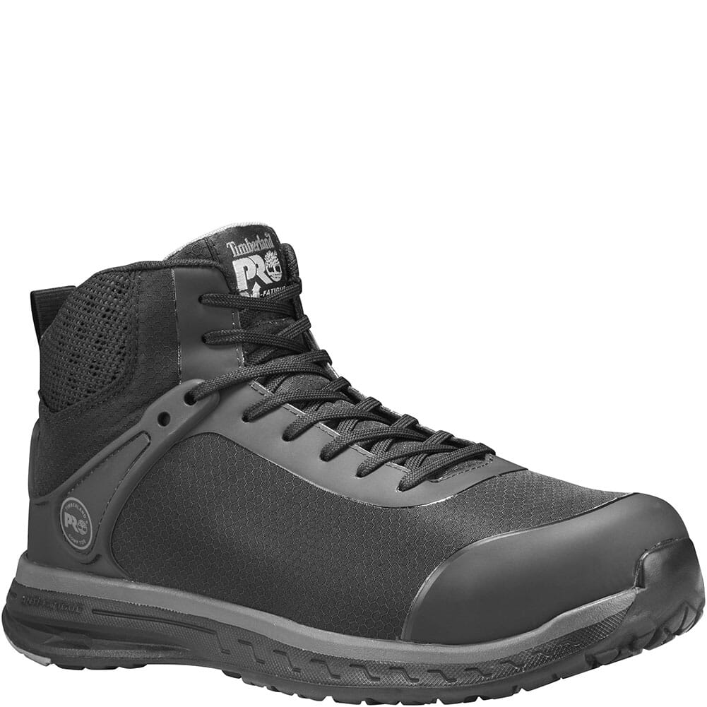 Image for Timberland Pro Men's Drivetrain SD35 Safety Boots - Black from bootbay