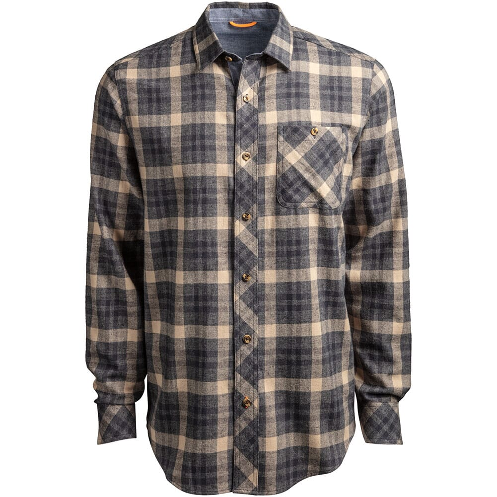 Image for Timberland Pro Men's Woodfort Midweight Flannel Work Shirt - Dark Navy from bootbay