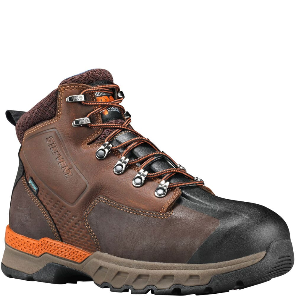 Image for Timberland Pro Men's Downdraft Safety Boots - Brown from bootbay