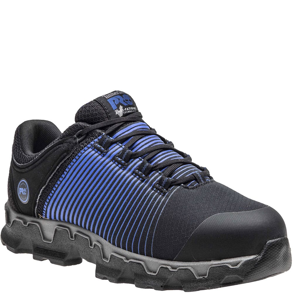 Image for Timberland Pro Men's Powertrain Sport SR Safety Shoes - Black from bootbay
