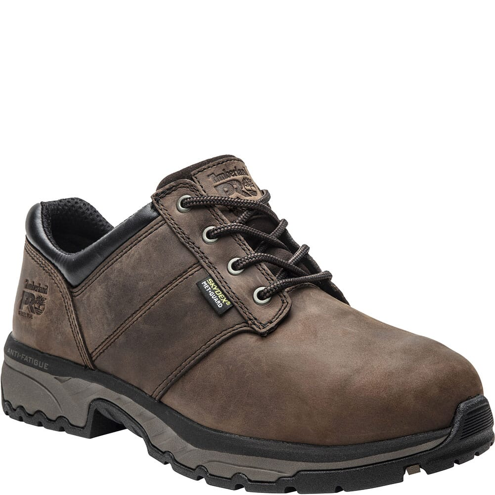 Image for Timberland Pro Men's Jigsaw Met Guard Safety Shoes - Brown from bootbay