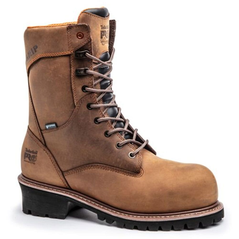 Image for Timberland PRO Men's Buzzsaw Safety Boots - Brown from bootbay