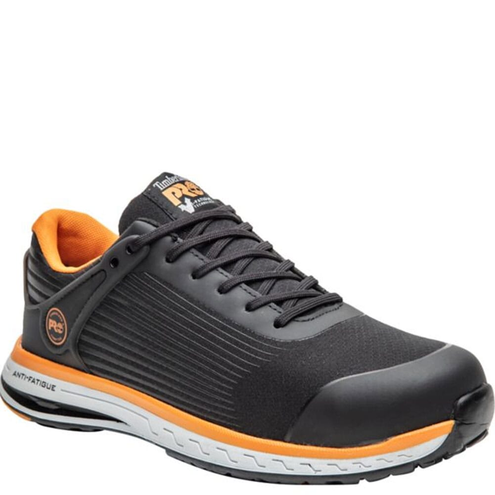 Image for Timberland PRO Men's Drivetrain Safety Shoes - Black/Orange from bootbay