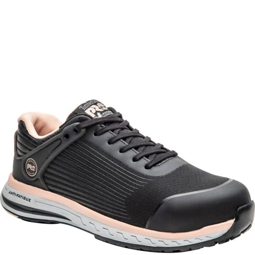 Image for Timberland PRO Women's Drivetrain Safety Shoes - Black/Pink from elliottsboots
