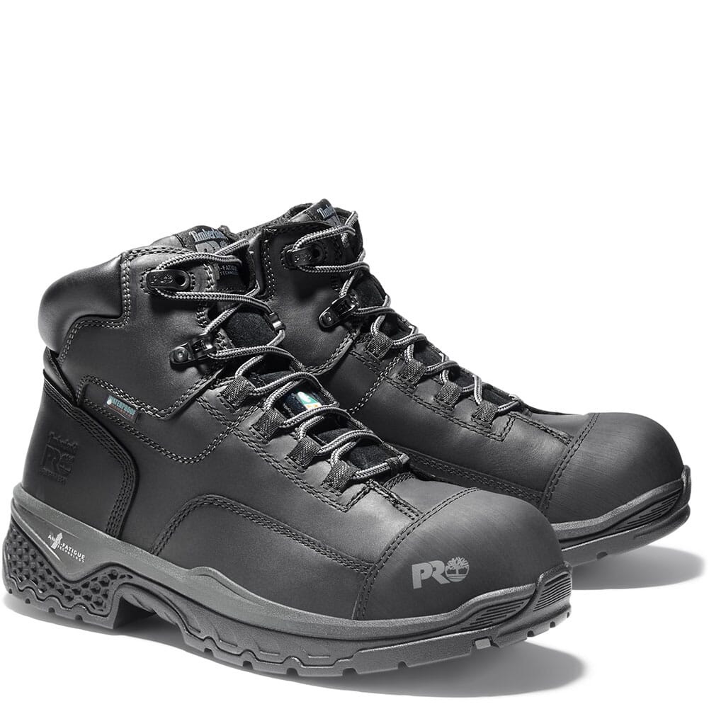Image for Timberland Pro Men's Bosshog WP Safety Boots - Black from bootbay