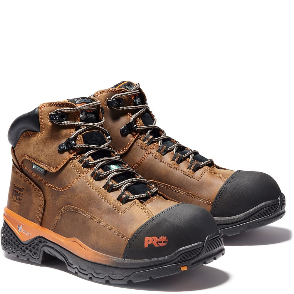 Image for Timberland Pro Men's Bosshog WP Safety Boots - Brown from bootbay