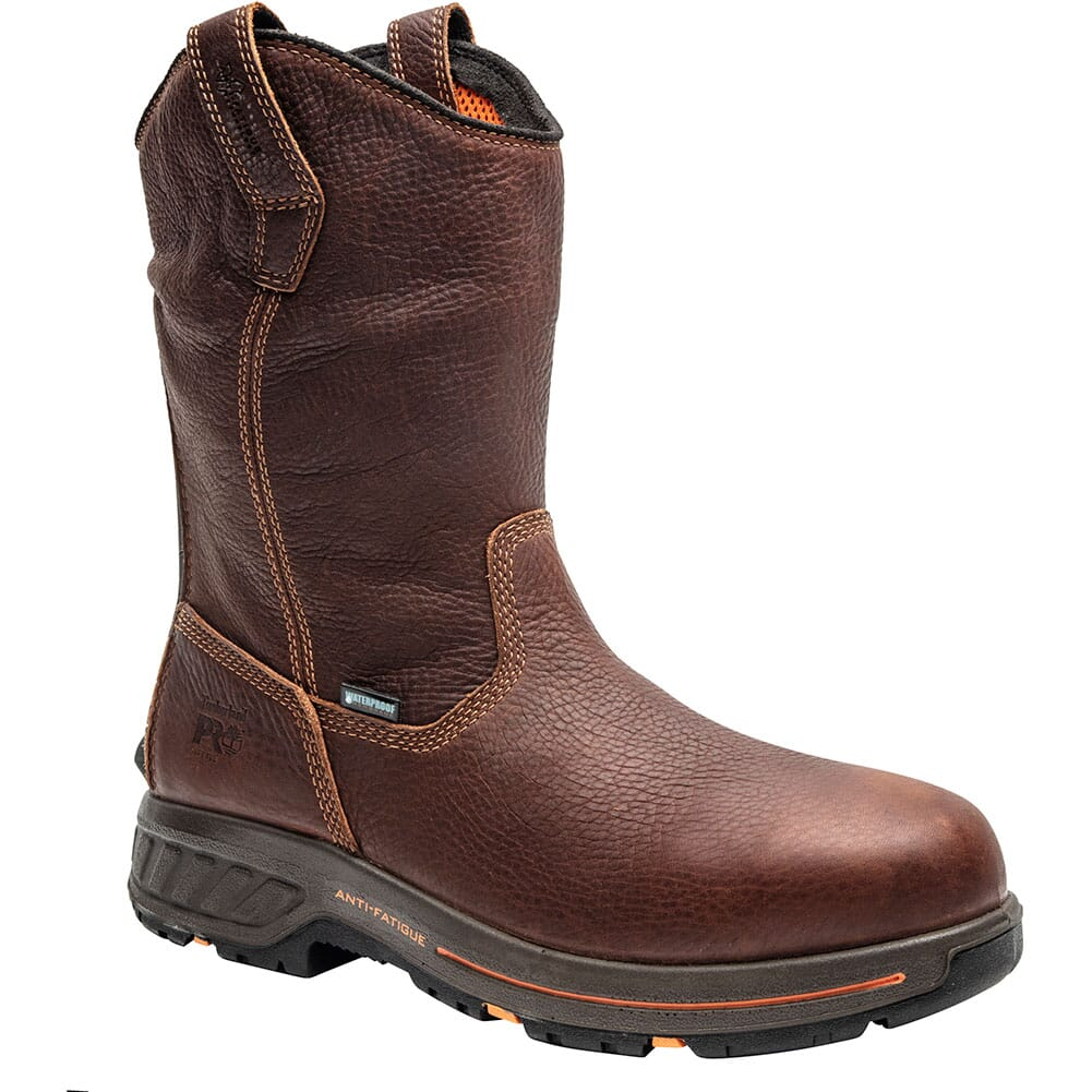 Image for Timberland Pro Men's Helix HD Work Boots - Red Brown from bootbay