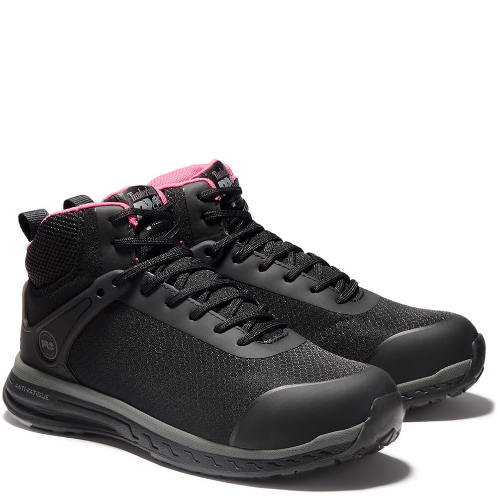 Image for Timberland Pro Women's Drivetrain SD35 Safety Shoes - Black/Pink from elliottsboots