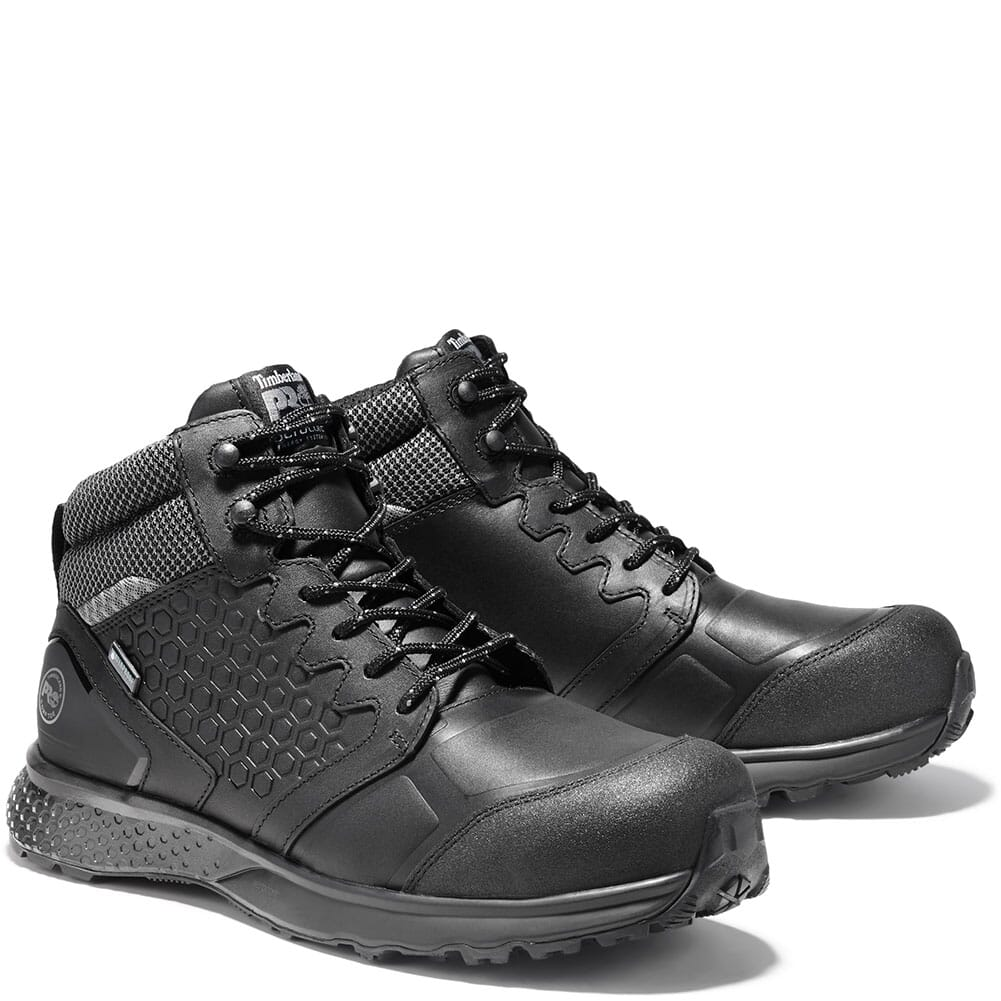 Image for Timberland PRO Men's Reaxion Safety Boots - Black from bootbay